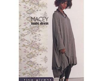 Tina Givens Macey Tunic Dress Sewing Pattern # 7090 sizes 2-22