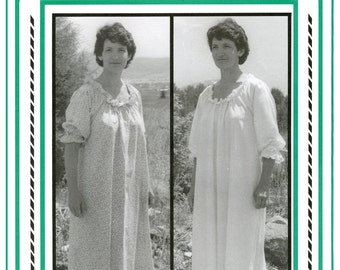 Woman's Chemise sizes 8-20 Undergarment, Nightgown, Smock, Dress - Eagle's View Sewing Pattern # 56