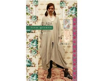 Tina Givens Clara Kaftan sizes XS-2X Sewing Pattern # 3123