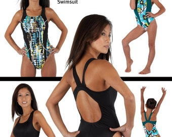 Jalie Racerback Swimsuit Sewing Pattern # 3134 in 27 Sizes for Women & Girls