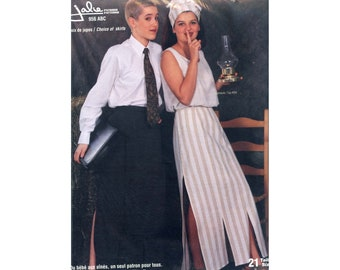 Jalie 956 Long Skirt With or Without Panel Sewing Pattern in 21 Sizes Women & Girls
