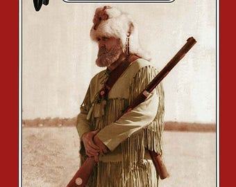 Missouri River Mountain Men, Trapper's Fringed Buckskin Shirt S-XXL Sewing Pattern # 026