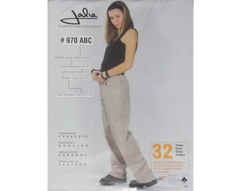 Jalie Loose-fitting Pants Sewing Pattern # 970 in 32 Sizes - Women's XS-6X & Girls' 2-14