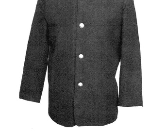 Men's Civil War Union Sack Coat Chest sizes 34-58 - Timeless Stitches Sewing Pattern TSM-740 Reenactment Soldier Fatigue Uniform