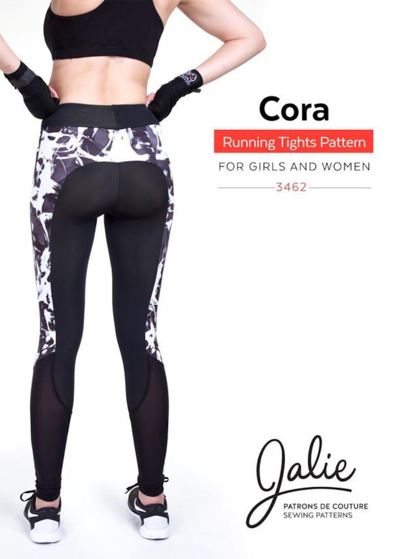 63e56db35bbb2 Jalie Running Tights Leggings   Shorts Sewing Pattern 3462