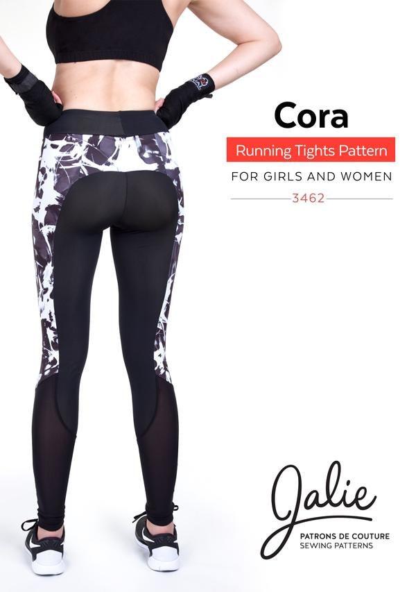 Jalie Running Tights Leggings & Shorts Sewing Pattern 3462 Cora - 27 ...