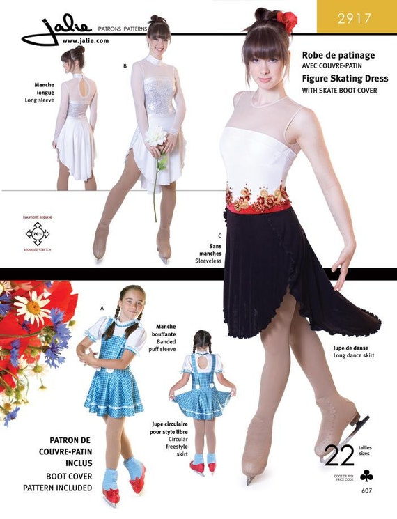 Jalie Dance Freestyle Skating Dress Sewing Pattern 2917 In Etsy