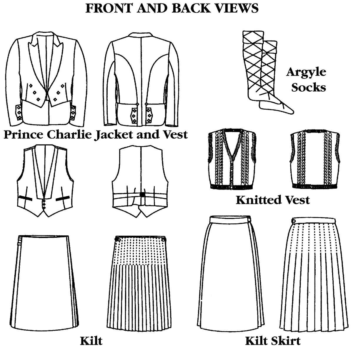 Kilt Sewing Pattern Magnificent Inspiration
