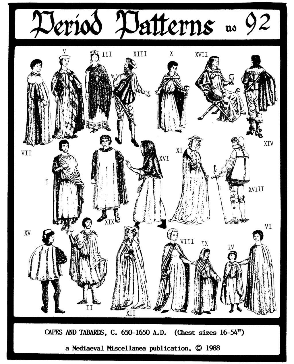 Medieval - Renaissance 650-1650 AD Capes & Tabards - Adult and ...