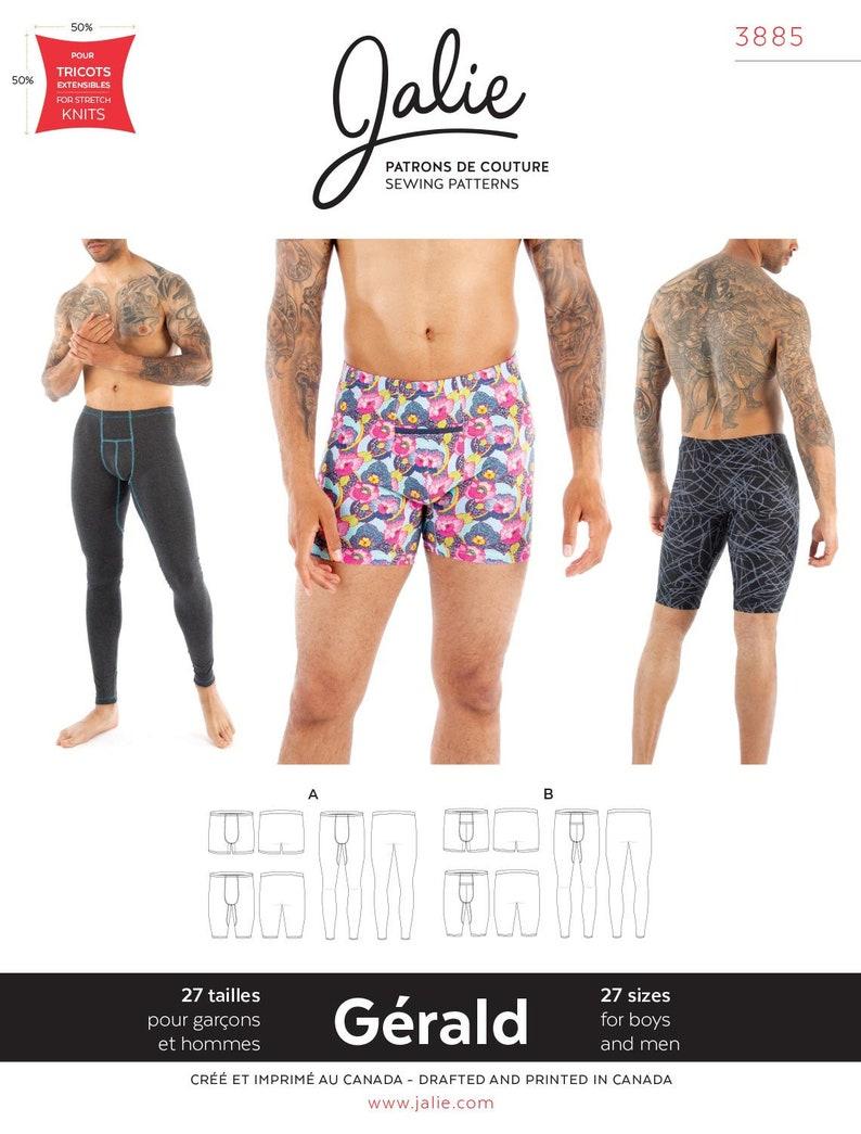 b4b365ca70a3 Jalie 3885 Gerald Men's & Boys' Underwear Swim | Etsy