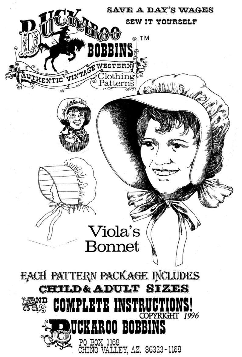 Victorian Hat History   Bonnets, Hats, Caps 1830-1890s     Violas Sun Bonnet 1800s-1920s Style for Women & Girls - Buckaroo Bobbins Sewing Pattern $6.50 AT vintagedancer.com