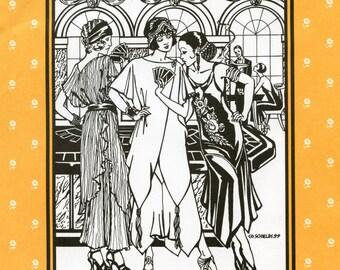 Folkwear Monte Carlo Dress & Tunic 1920s Flapper Style size XS-2XL Sewing Pattern #264