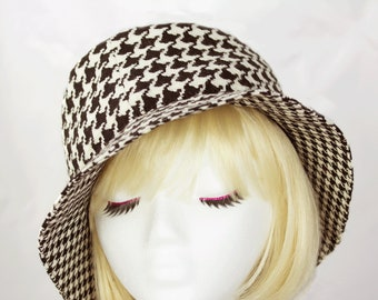 5c1dfa9b8f070 Fine sewn hats wool fedora flatcap floppy fab by CherryPatHats