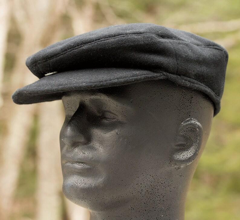 Mens Wool Flat Cap  Drivers Cap  Gatsby Cap  Baker Boys Hat image 0