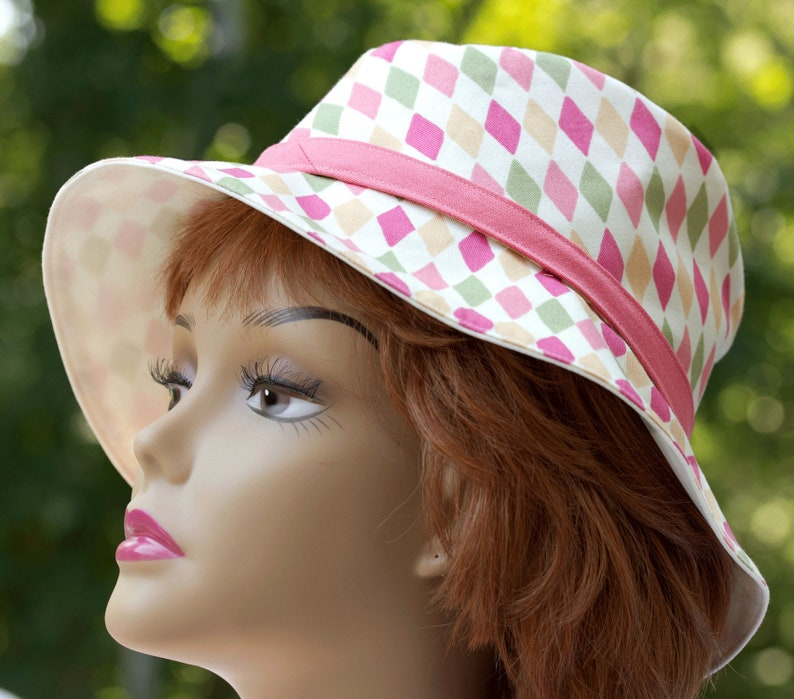 Women's Cotton Sun Hat  Neutral Cream Off-White  image 0