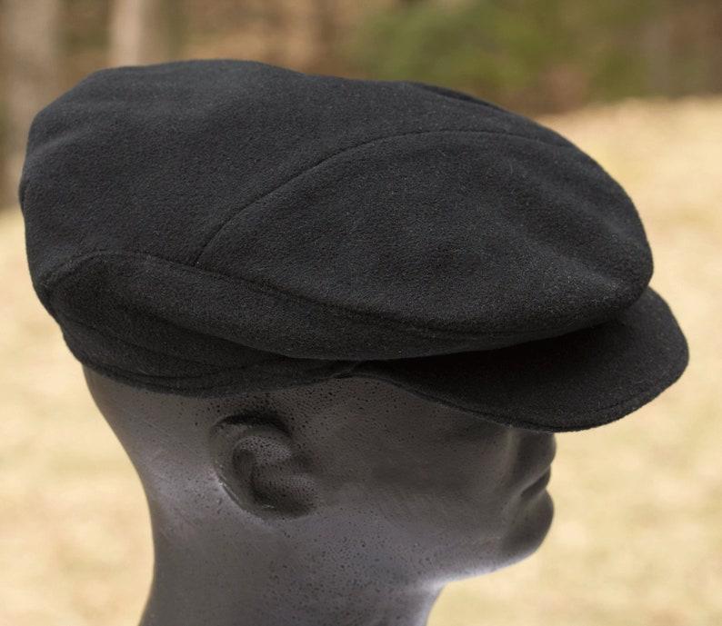 54e88c10ff3ed Mens Wool Flat Cap Drivers Cap Gatsby Cap Baker Boys Hat