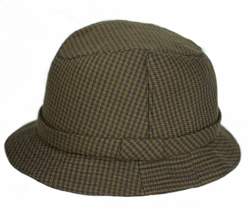 86441f2d23daf Dr. Henry Jones Sr. Fedora Houndstooth Wool Tweed English