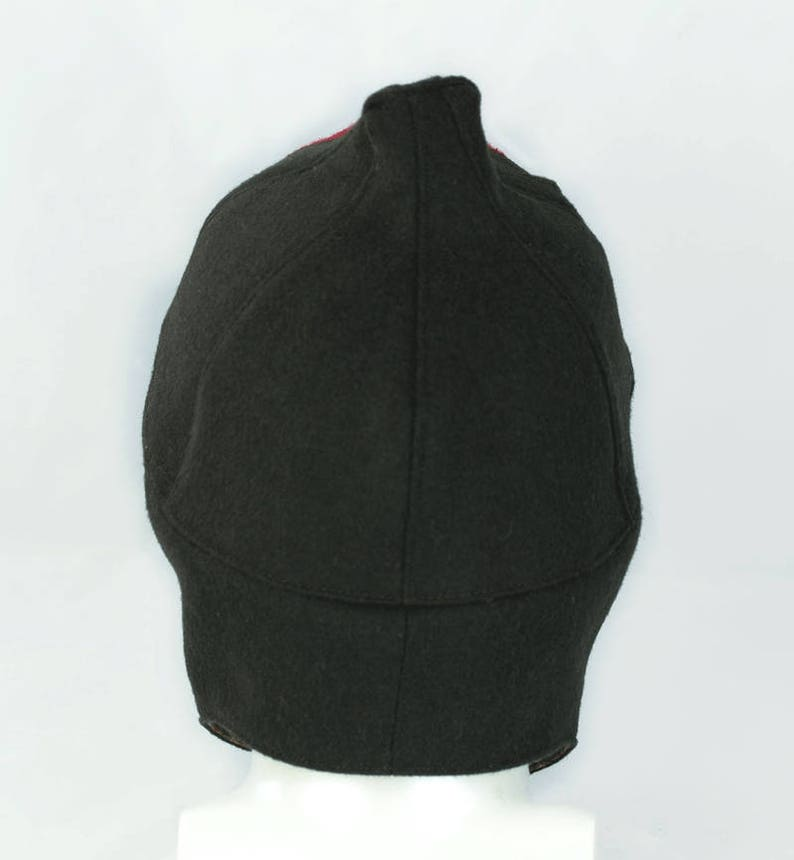 d2b2127a9ec Mens Winter Hat Wool Budenovka Russian Revolution Cap USSR