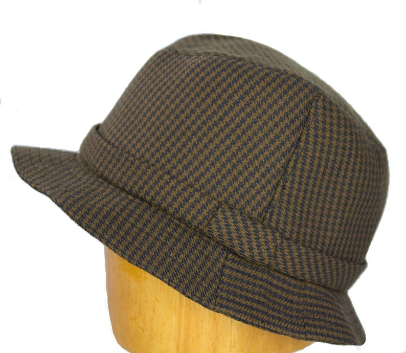 d0dc49e6337 Dr. Henry Jones Sr. Fedora Houndstooth Wool Tweed English