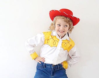 Toy Story Jessie Shirt Child  sc 1 st  Etsy : toddler jessie costume  - Germanpascual.Com