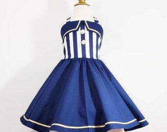 5cb208804 Girls sailor dress