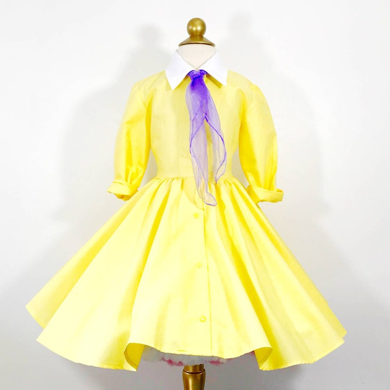 Yellow Jane Shirt Dress