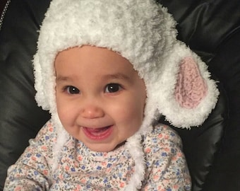 Lamb Hat available in 5 colors and 4 sizes