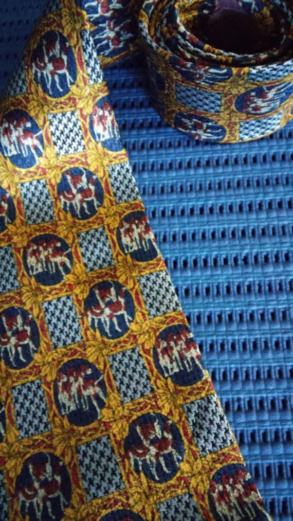 Christian Dior Silk Tie Vintage 1960s