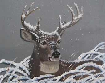 """Wildlife E-Pattern Packet  """"Hunkered Down""""  By Terrie Owens"""
