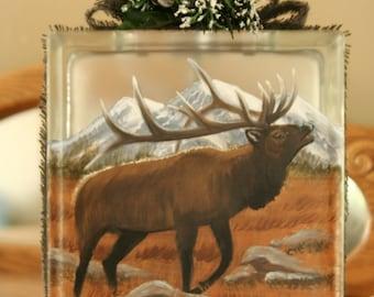 """Elk  E-Pattern  """"Bugle Boy""""  By Terrie Owens"""