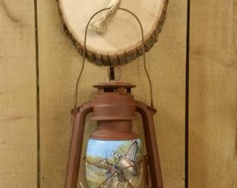 Lantern, Antler, Cabin Decor, Ducks