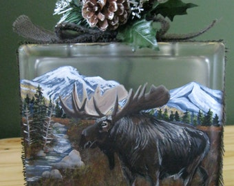 """E-Pattern Packet--""""Back Country Moose"""" By Terrie Owens"""