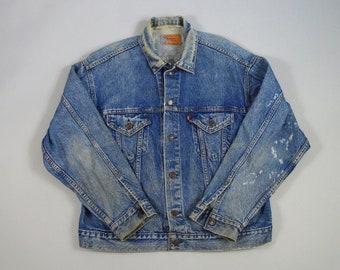 Vintage 1980s/1990s Denim Jacket by Levi's Size Large