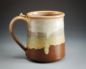 Handmade Pottery Tan and ...