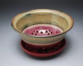 Handmade Pottery Berry Bo...