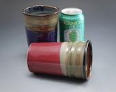 Handmade Pottery Beer gla...