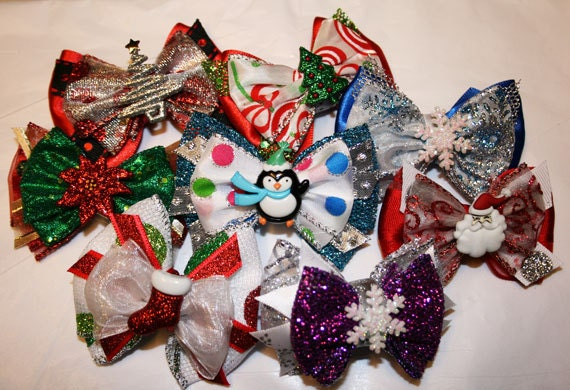Mini Holiday Bowtique Bows