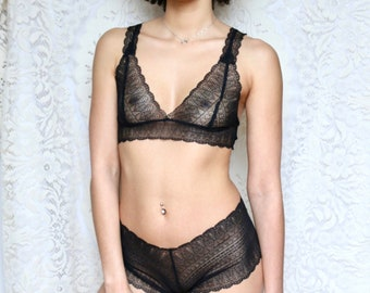 8d2617d8d98 Beautiful lace lingerie handmade in England. by BrightonLace