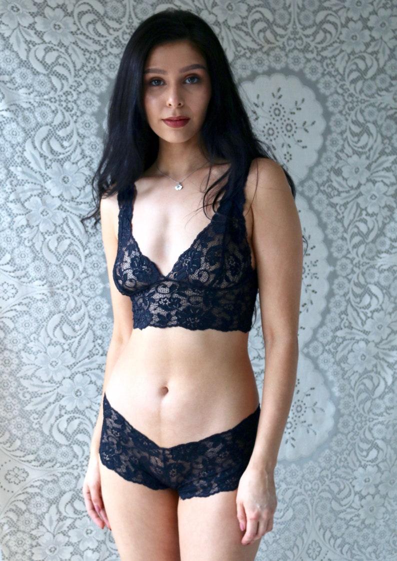 Sheer lingerie black lingerie lace see through lingerie  f44c07b69