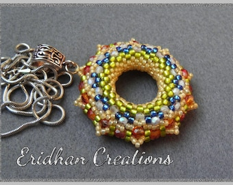 Set of beaded donuts - tutorials