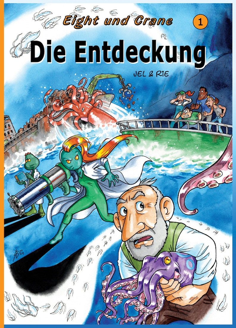 Comic book Eight and Crane Band 1: Die Entdeckung Jel Rie image 0