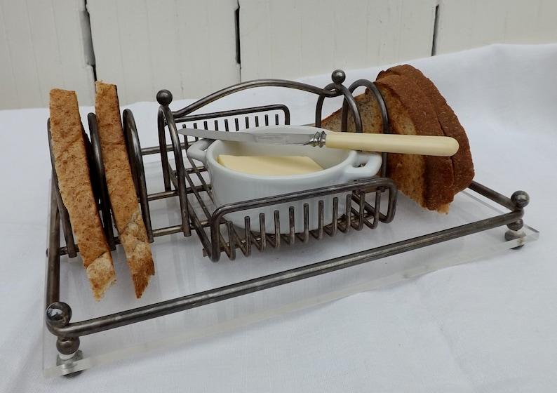 Home & Garden Sincere Chrome Toast Rack …