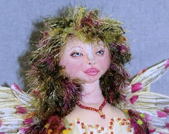 Camille: A Flower Faerie Doll Pattern