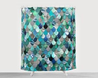Superbe Mermaid Curtains | Etsy