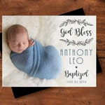 God Bless Baptism Photo Magnets, christening, baptism favors, baptism magnets, christening favors, baptism photo gift + Envelopes