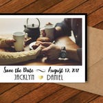 Simply Sweet Save the Date Photo Magnets   Printable Save the Dates, wedding magnets, personalized, favor magnets, wedding favor + Envelopes