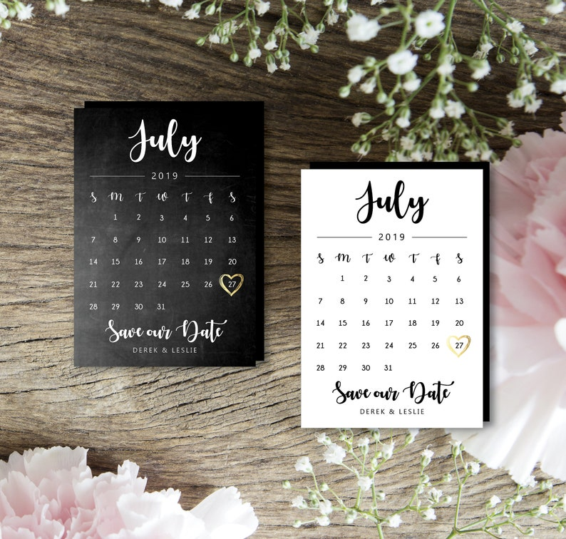 Simply Perfect Calendar Magnets personalized calendar save image 0