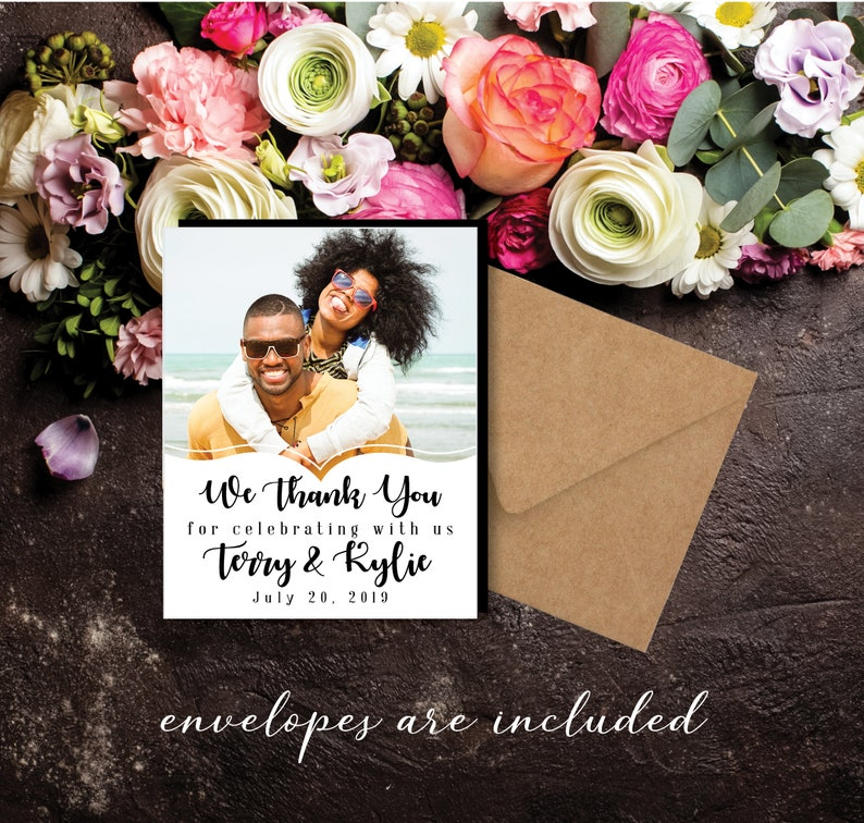 The Perfect Thank You Magnet photo magnets wedding favors image 0