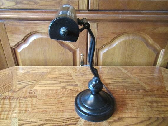 Noir réglable piano lampe lampe de bureau étudiant s adapte à