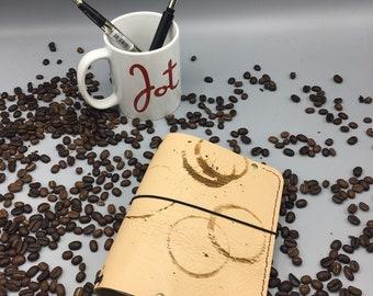 Creative Fuel (A6-CF-01) JournalJot (A6) - Leather Traveler's Notebook/Fauxdori